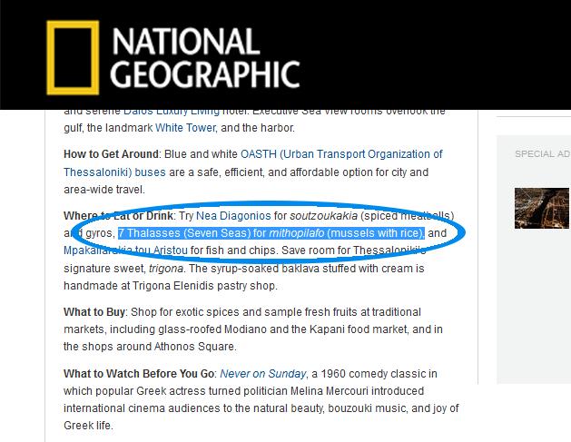 Magazine: National Geographic