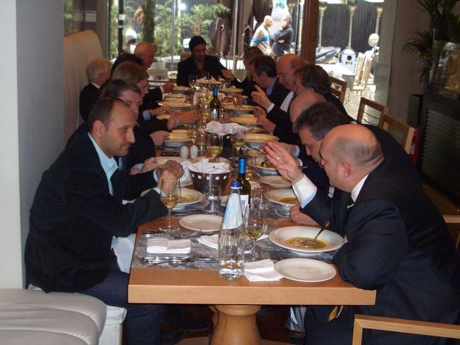 Манчестер Сити (Manchester City)   в ресторане 7 Thalasses